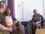 Trio con mi abuela y mi nuevo novio